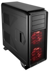 Corsair CC-9011046-WW Graphite Series 730T Full Tower ATX Performance Gaming Computer Case - Black